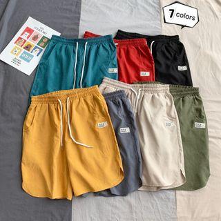 Fireon - Plain Wide-Leg Shorts
