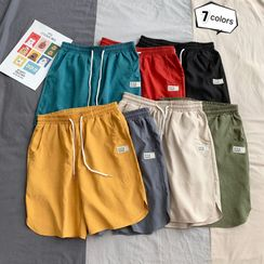 Fireon - Plain Wide-Leg Shorts