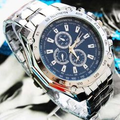 Tazzy - 不鏽鋼手鏈錶