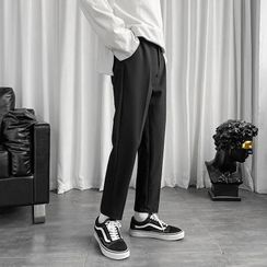 Oakjam - Cropped Straight Leg Dress Pants