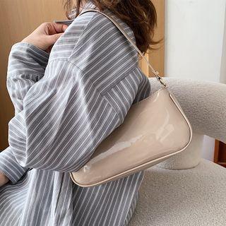 Hydracinthe - Plain Zip Hand Bag