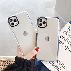 Mobby(モビー) - Transparent Phone Case - iPhone 11 Pro Max / 11 Pro / 11 / XS Max / XS / XR / X / 8 / 8 Plus / 7 / 7 Plus / 6s / 6s Plus