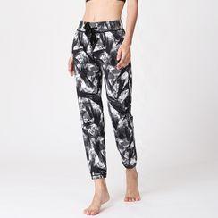 PAIYIGE - Printed Yoga Pants