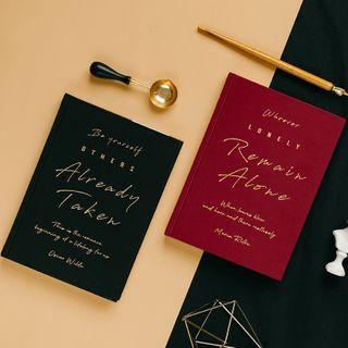 Milena - Lettering Medium Notebook