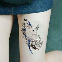 Star of the Day - Katze Tattoo Aufkleber