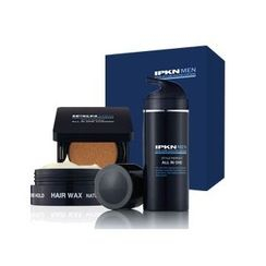 IPKN - Men Style Perfect All-In-One Special Set: All-In-One 100ml + Hair Wax 50g + Cushion SPF50+ PA+++ 13g