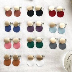 Mimishi - Disc Clip-On Earring