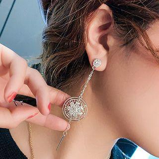 Catalunya - Rhinestone Dangle Earring