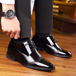 Snowpard - Hidden Wedge Oxford Shoes