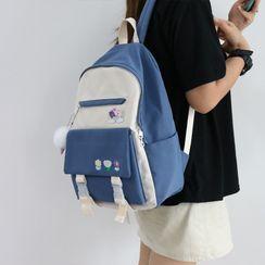 Little Days - Lightweight Color Block Backpack