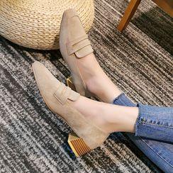 Cymbeline - 粗跟莫卡辛鞋