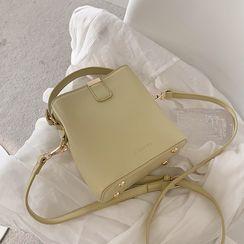 Skyglow(スカイグロウ) - Top Handle Plain Bucket Bag