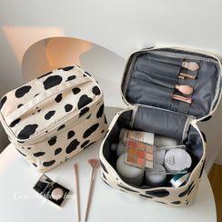 Intimo - 奶牛印花化妆手提袋
