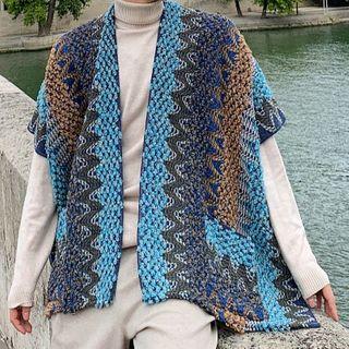 ANCHO - Patterned Knit Jacket