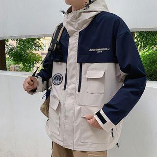 Besto - 拼接连帽夹克