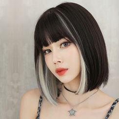 SEVENQ(セブンキュー) - Highlight Short Full Wig / Wig Tool Kit / Set