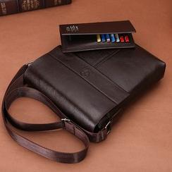 Filio - Faux Leather Shoulder Bag / Clutch