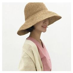 FROME - Straw Bucket Hat