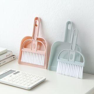 Homy Bazaar(ホーミーバザール) - Set: Mini Mop + Dustpan