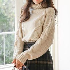 Hazie - 高领厚毛衣