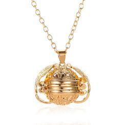 B.muse - Alloy Fragrance Sachet Pendant Necklace