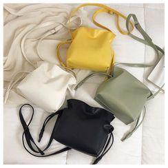 Daelynn - Drawstring Crossbody Bucket Bag