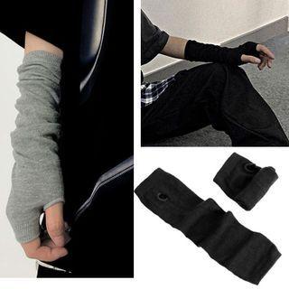 Damasco - Knit Fingerless Gloves