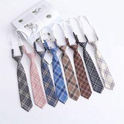 College Affair(カレッジアフェア) - Plaid Neck Tie