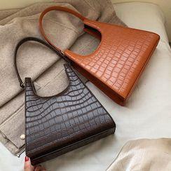 Bezac(ベザック) - Crocodile Pattern Hand Bag