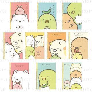SunToys - San-X Sumikko Gurashi Notebook - 10 Types