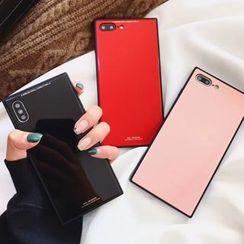 Case Study - 纯色光面手机保护套 - iPhone X / 8 / 8 Plus / 7 / 7 Plus / 6s / 6s Plus