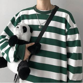 Holzwege - Striped Long-Sleeve T-Shirt