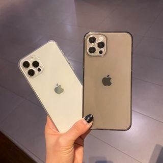 Huella - Transparent Phone Case For iPhone SE / 7 / 7 Plus / 8 / 8 Plus / X / XS / XR / XS Max / 11 / 11 Pro / 12 Mini / 12 / 12 Pro / 12 Pro Max