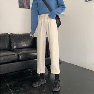 Sisyphi(シシピ) - Straight-Cut Jeans
