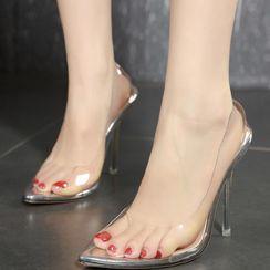 Niuna - 高跟透明鞋
