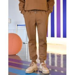 GERIO - Fleece-Lined Jogger Pants