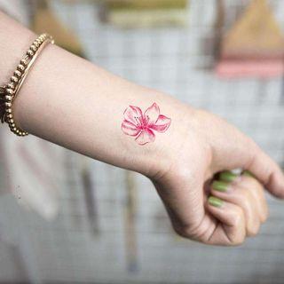 Tattoo Kingdom - Flower Waterproof Temporary Tattoo