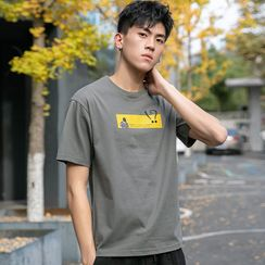 KANYO - 短袖卡通印花T裇