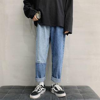 DuckleBeam - Paneled Harem Jeans