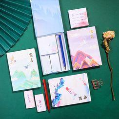 Eranso(エランソ) - Set: Printed Sticky Note + Pen