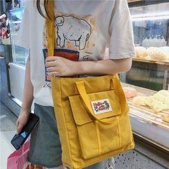 Gokk - Zip Canvas Crossbody Bag