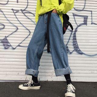 Blackcola(ブラックコーラ) - Baggy Wide-Leg Jeans