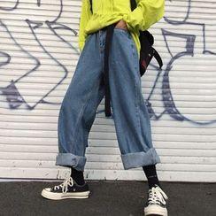 Blackcola - Baggy Wide-Leg Jeans