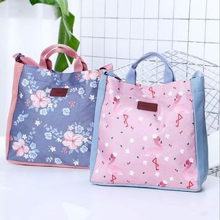 Evorest Bags - Printed Canvas Tote Bag