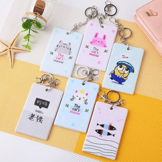 ARIS - Printed Plastic Card Holder Keyring