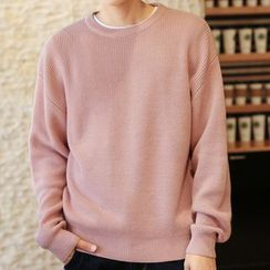 Really Point - Plain Sweater