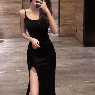 Shopherd - Strappy Slit Dress