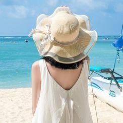Buttercap - Foldable Mesh Panel Sun Hat