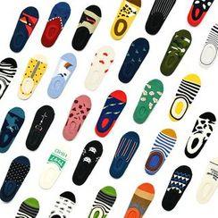 SHINSHIN - 印花船袜 (多款设计)