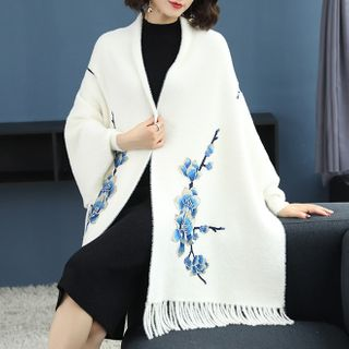 Pecora - 碎花針織圍巾
